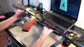 Waffen Werks AK74 Update Plum Stock Set