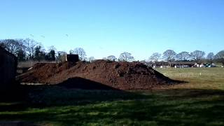 preview picture of video 'Larkfleet Homes Old Rugby Club Site Oakham Building Work Starts'