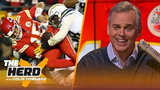 Colin Cowherd reiterates Mahomes criticism, says Steelers-Pats 'not a rivalry' | NFL | THE HERD
