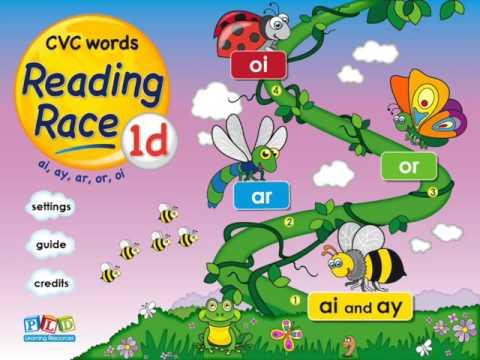 Reading race 1d - ar, ai words