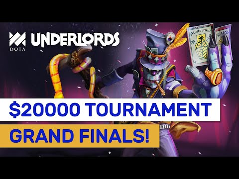 GRAND FINAL Highlights! $20000 Dota Underlords Tournament! #Sponsored