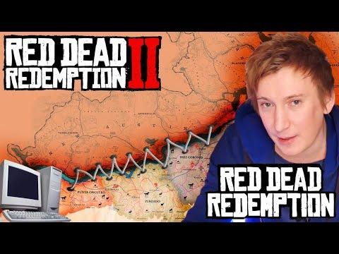 Red Dead Redemption 2 на ПК и ремейк RDR 1 : ПОДРОБНОСТИ и НАХОДКИ