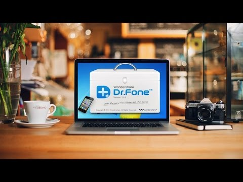 Dr. Fone recupera tus datos perdidos y repara tu iOS o Android