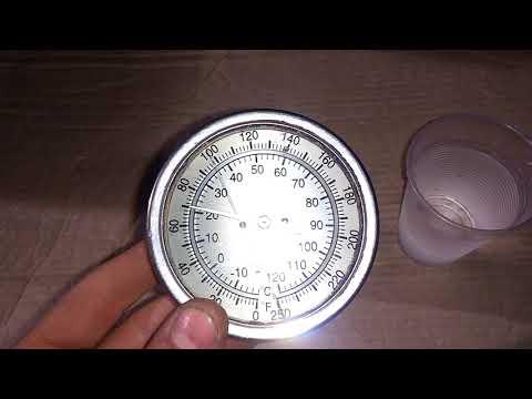 Termómetro para tubería