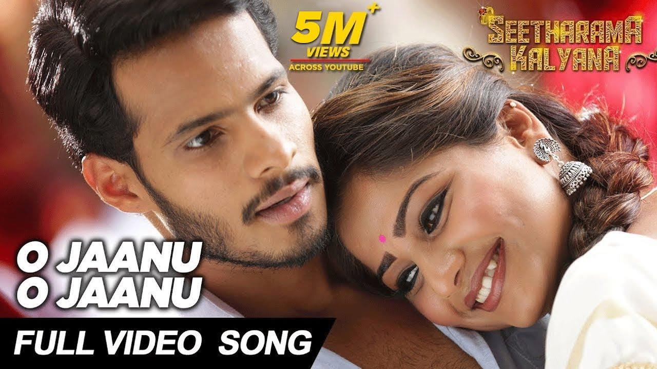 O Jaanu O Jaanu lyrics - Seetharama Kalyana - spider lyrics