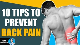 10 Back Pain Tips You Probably Don't Know