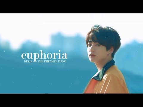 BTS (방탄소년단) - Euphoria - Piano Tutorial - смотреть