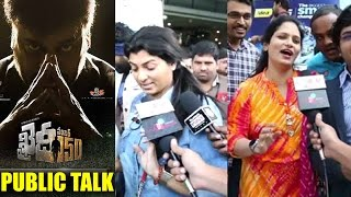 Khaidi No 150 Movie Public TalkPublic ResponsePublic Reaction  Khaidi No 150 Public Talk