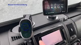 Navi, Handy und Co sicher auf dem WoMo Armaturenbrett befestigen - egal ob Ducato, Jumper oder Boxer