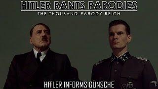 Hitler informs Günsche