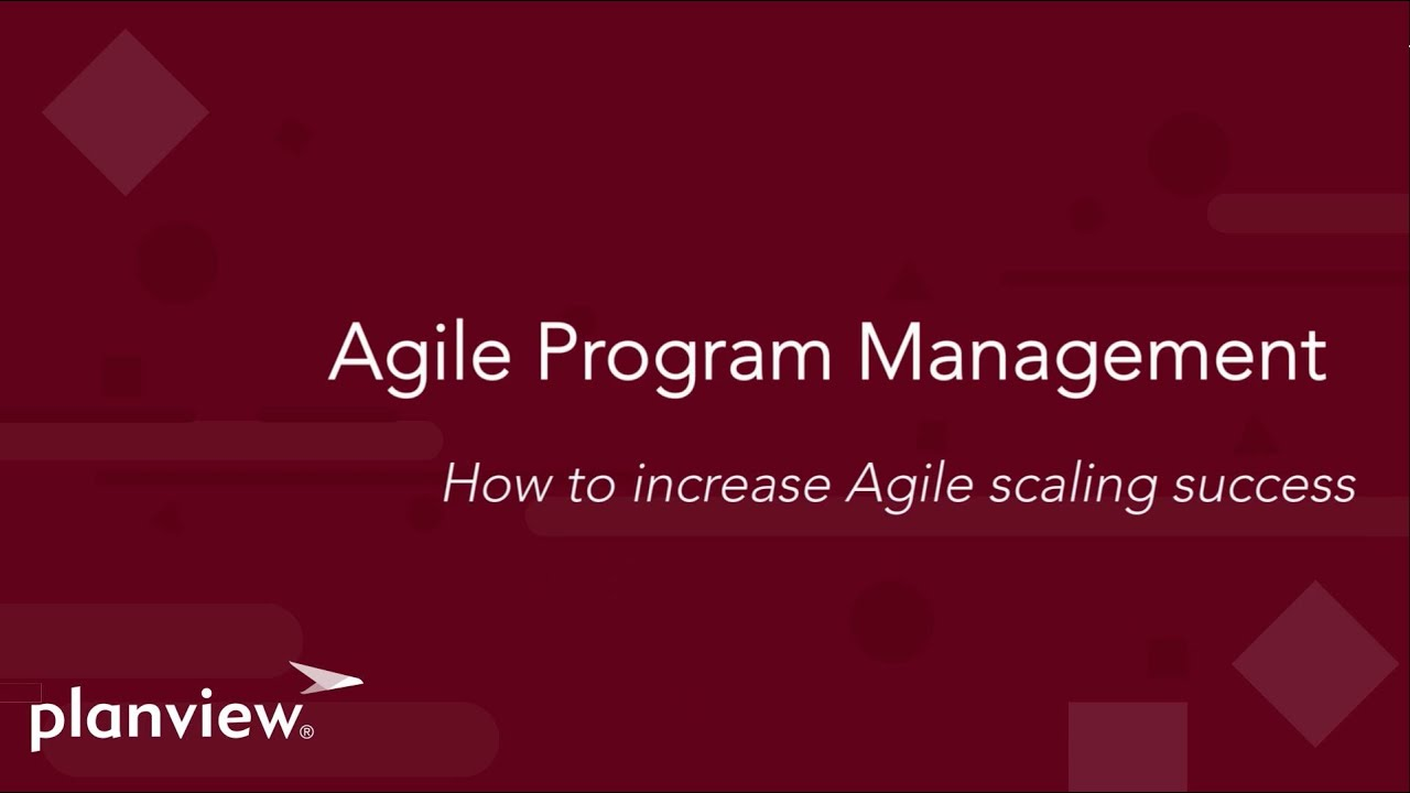 Video: Agile Program Management
