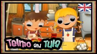 Telmo and Tula – Chocolate cookies recipes – Educational cartoon with ideas to cook with children