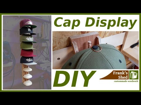 🔥 Kappen Sammlung richtig aufhängen | DIY Hat Rack Tutorial | Cheap & Easy