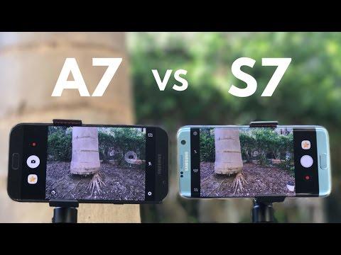 Samsung Galaxy A7 (2017) vs Galaxy S7 Edge Camera Comparison