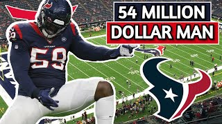 Houston Texans Whitney Mercilus Film Breakdown | Was His Contract Worth It? | Texans Thoughts