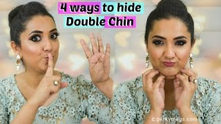 4 Ways to hide double chin   Perkymegs