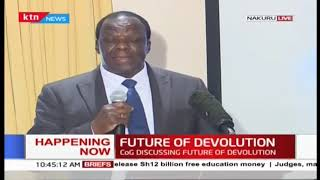 Kenyan Governors discuss the future of Devolution