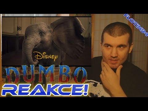Dumbo Finale Trailer REACTION/REAKCE