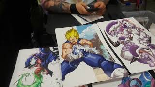 Kameha-con second day.