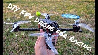 Сборка бюджетного гоночного квадрокоптера своими руками ✅ DIY FPV Drone