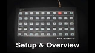 Icon Pro Audio: Platform B+ Setup & Overview