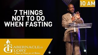 Brother Aristide Bedford | 7 Things not to do when fasting | TG | 10 am