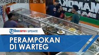 Kasus Perampokan di Warung Makan di Jaksel yang Terekam CCTV, Polisi Sebut Sudah Identifikasi Pelaku