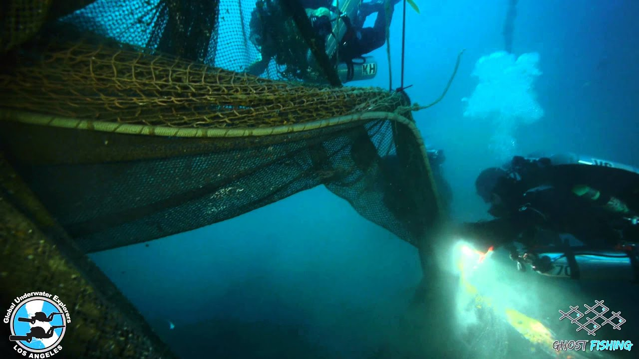 Los Angeles Underwater Explorers; Ghost Fishing