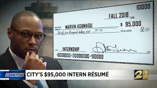 City's $95,000 intern resume