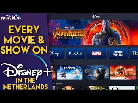 Disney+ Hands On Tour | Every Movie & Series On Disney+ In The Netherlands