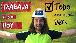 Trabajar en Australia. La verdad