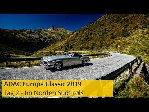 ADAC Europa Classic 2019 - Tag 2: Der Norden Südtirols