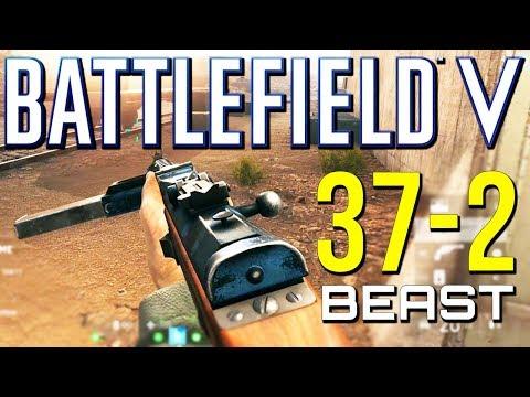 Battlefield 5: 37-2 MP34 is a Beast! (Battlefield V Multiplayer Gameplay)
