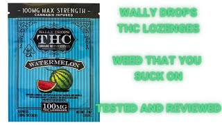 Wally Drops: Weed lozenges. Tested and reviewed. by  Weeats Reviews