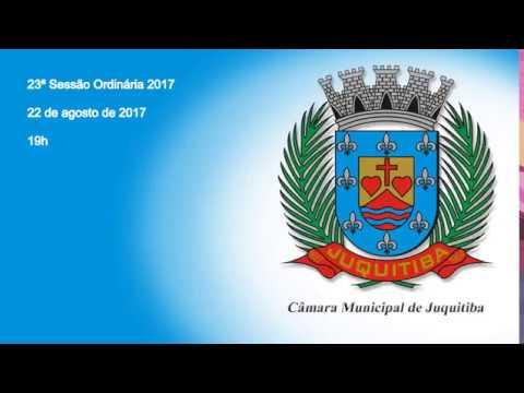 Câmara Municipal de Juquitiba - 23ª Sessão Ordinária 2017