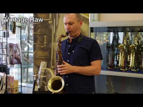 Vintage Trevor James RAW  & RAW XS Tenor Saxophones