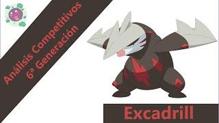 Drilbur  - (Pokémon) - Análisis Competitivos y Estrategias 6ª Gen. - Excadrill