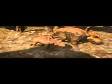Walking with Dinosaurs Clip 'Gorgosaurus Attacks'