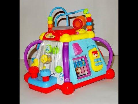 Игрушечный развивающий центр Hoodle. Мультибокс  Hoodle для детей. Обзор игрушки.