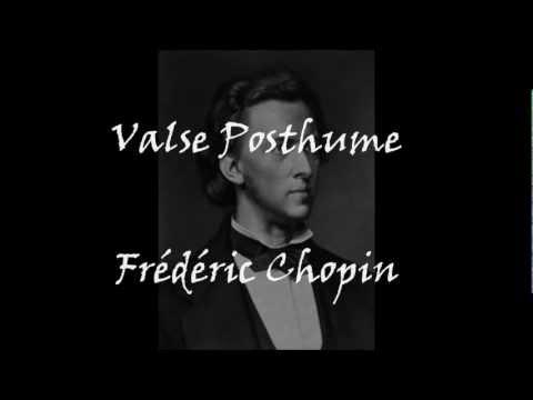 Valse Posthume - Chopin