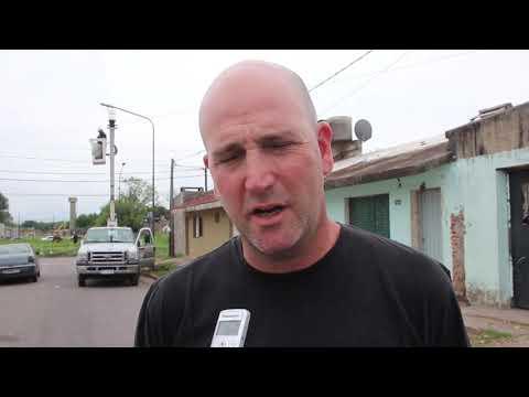 Continúa la reconversión lumínica en los barrios de Junín