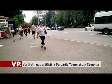 Vor fi din nou artificii la Serbările Toamnei din Câmpina