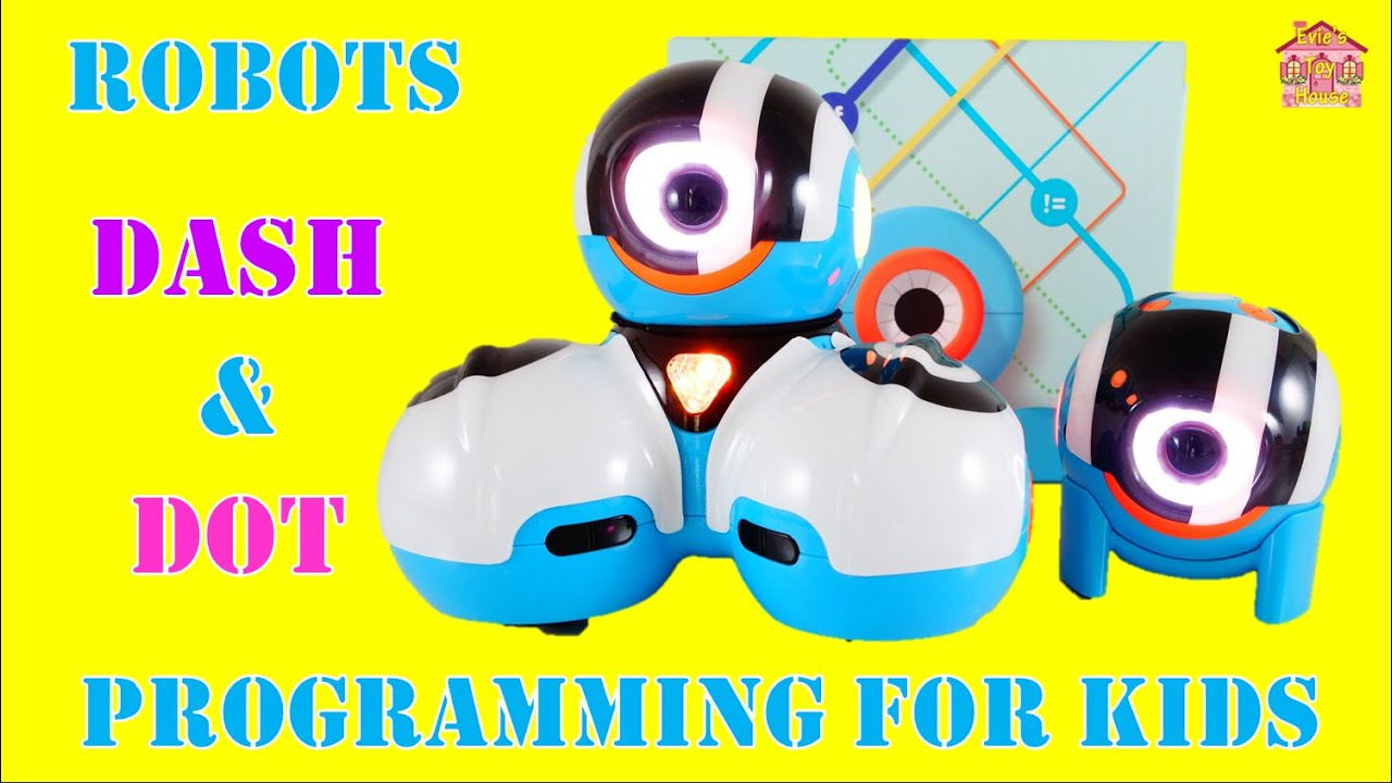 STEM Engineering Toy - ROBOTS Dot and Dash from the Wonder Workshop Review