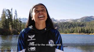 Team Brazil on Training in Mammoth Lakes