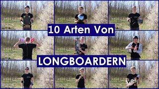10 Arten von LONGBOARD-Fahrern - Vom Anfänger bis zum Pro   Longboarding Germany