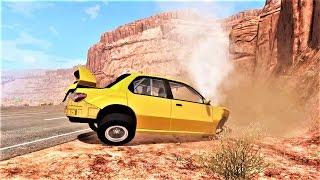 НЕ СПРАВИЛСЯ С УПРАВЛЕНИЕМ! Безумные аварии на скорости! BeamNG Drive!