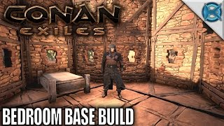 Conan Exiles | Bedroom Base Build | Let's Play Conan Exiles Gameplay | RNServer E12
