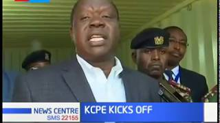 Helicopters dispatch KCPE exams in areas not easily accessible