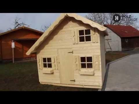 Kinderspielhaus Tom - Vorstellung | holz-blech.de