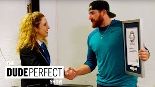 Breaking Guinness World Records on The Dude Perfect Show